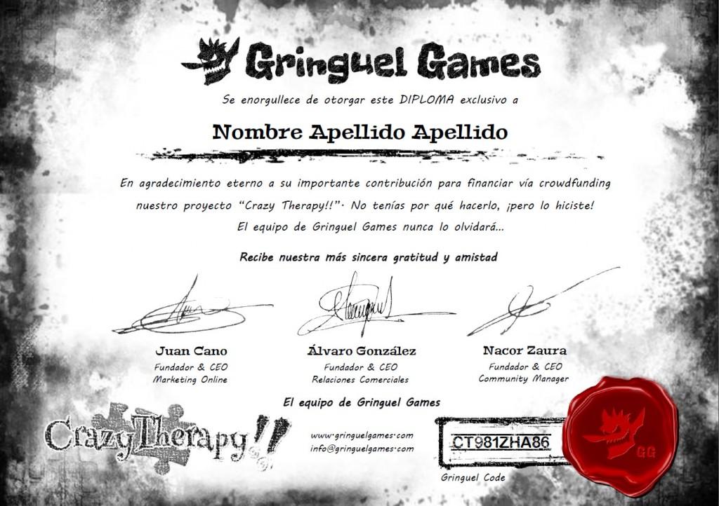 diploma exclusivo